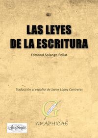 las leyes de la escritura, Sollange pellat, grafologia