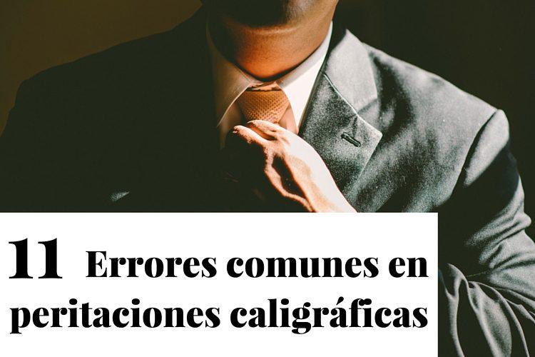 Errores comunes