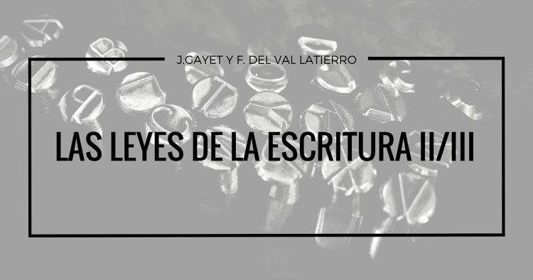 J.GAYET Y F. del VAL LATIERRO